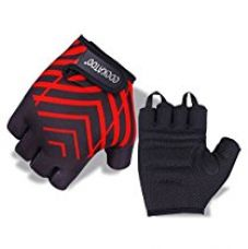 Cockatoo WLG5 Lycra-Spandex Fit-Tech Gym Gloves, Senior X-Large (Red) for Rs. 299