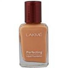 Buy Lakme Perfecting Liquid Foundation, Shell, 27ml from Amazon