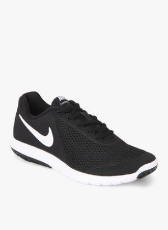 5968beae5fbd Flat 40% off on Nike Flex Experience Rn 6 Black Running Shoes -  Dealplatter.com