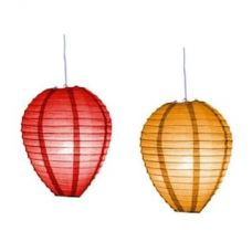 Skycandle Multi-Color Oval Shaped Round Paper Hanging Lights Pack Of 2 for Rs. 89