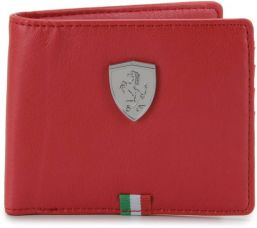 Buy Puma Men Red Wallet  (3 Card Slots) from Flipkart