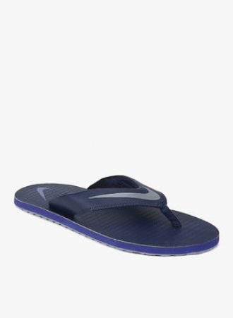 new product cd3d7 d8881 Buy Nike Chroma Thong 5 Navy Blue Slippers from Jabong ...
