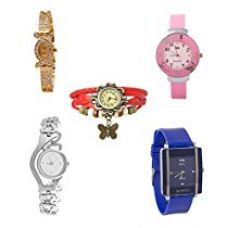 Buy Shree Analogue Multi-Color Dial Girl's Watch - SH-108990-PIIT from Amazon