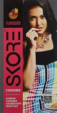 Skore Flavours Condoms - 20's for Rs. 120