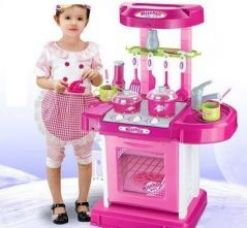 Flat 52% off on Kids Kitchen Set Toy With Light And Sound
