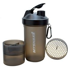 My Shake 16009 Smart shaker 600ML with Extra comapartment (Black) for Rs. 289