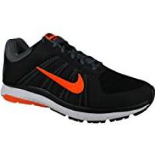 Nike Men's Dart 12 MSL Black, Total Orange and Dark Grey Running Shoes - 9 UK/India (44 EU) for Rs. 4,295