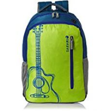 Safari 32 ltrs Laptop Bag (Guitar-Green-LB) for Rs. 1,390