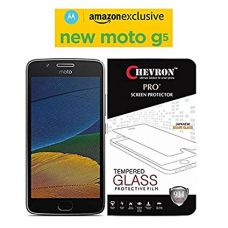Buy Chevron Ultimate Warrior Pro+ Motorola Moto G5 Tempered Glass from Amazon