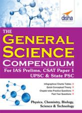 Get 55% off on The General Science Compendium for IAS Prelims General Studies CSAT Paper 1, UPSC & State PSC