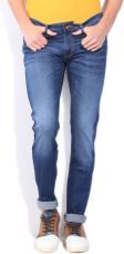 Buy Pepe Jeans Regular Men's Blue Jeans for Rs. 917