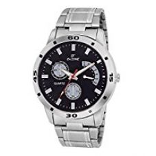 Dezine Analogue Black Dial Men'S Watch-Dz-Gr049-Blk-Ch for Rs. 429
