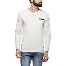 Alan Jones Solid Cotton Full Sleeves Tshirt for Rs. 329