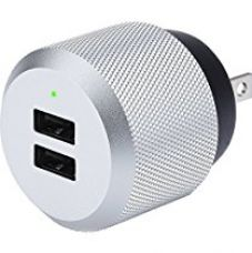 Just Mobile Aluminum High-Power Dual-Port Wall Charger for Universal/Smartphones for Rs. 2,350