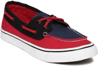 Buy Mast & Harbour Casual Shoes  (Navy) for Rs. 499
