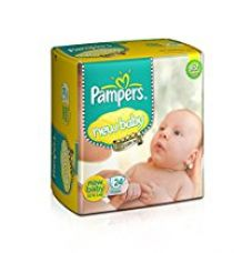 Buy Pampers New Baby Diapers (24 Count) from Amazon