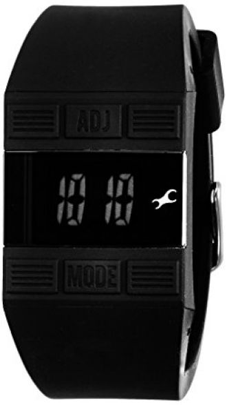 Buy Fastrack Casual Digital Black Dial Women's Watch - 68004PP01J from Amazon