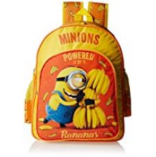 Buy Minion Polyester Yellow School Bag (Age group :6-8 yrs) from Amazon