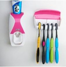 Buy traders5253 Dust-proof Toothpaste Dispenser Squeezer Kit assorted colour for Rs. 165