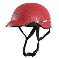 Autofy Habsolite All Purpose Safety Helmet with Strap for bikes (Red, Free Size) for Rs. 210