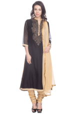 Get 60% off on X KASHISH Women Regular Fit Churidar Suit
