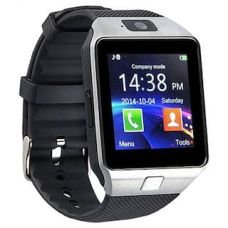 Dezine Silver Smart watch for Men with Camera Feature for Rs. 630