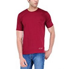 Scott International Men's Polyester T-Shirt (AWGDFT-MA-M_Maroon_Medium) for Rs. 229