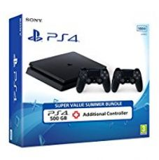 PS4 500GB Slim with Additional DS4 for Rs. 29,990