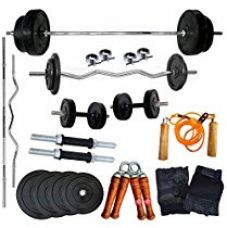 Buy Generic Home Gym Combo, 20Kg from Amazon