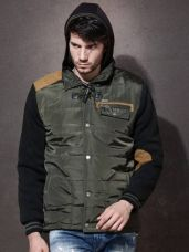 Buy Roadster Full Sleeve Solid Men's Jacket for Rs. 924