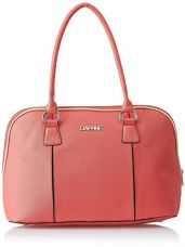 Buy Daphne Women's Handbag (Peach) from Amazon