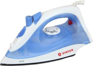 Flat 42% off on Singer Coral Steam Iron  (Blue)