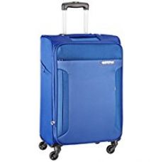 American Tourister Troy Polyester 79 cms Royal Blue Softsided Suitcase (AMT TROY SP79 ROYAL BLUE) for Rs. 6,280