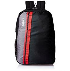 Buy Safari 25 Ltrs Black Casual Backpack (Jump 2 Black) from Amazon