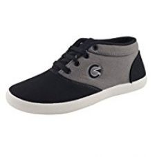 Buy Globalite Women's Casual Shoes Grey Black GSC1170-6 UK/IN from Amazon