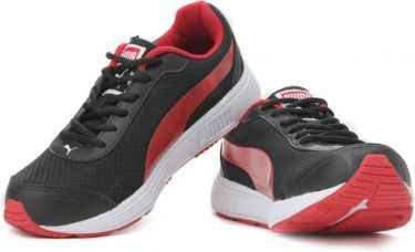 Puma Men Running Shoes  (Black) for Rs. 2,999