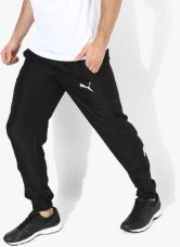 Buy Puma Ess No.1 Black Track Pants from Jabong