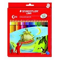 Buy Staedtler Luna 24-Shade Coloured Pencil Set from Amazon