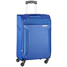 Buy American Tourister Troy Polyester 68 cms Royal Blue Softsided Suitcase (AMT TROY SP68 ROYAL BLUE) from Amazon