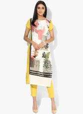 W Multicoloured Printed Rayon Kurta for Rs. 750
