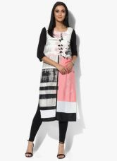 W Multicoloured Printed Polyester Kurta for Rs. 910