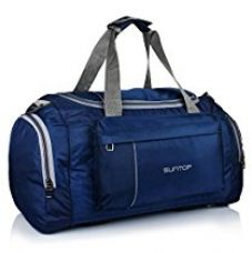 Suntop Alive Nylon 40 Ltr Oxford Blue Travel Duffles for Rs. 1,650