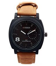Buy Brosis Deal Brown Analog Watch from Amazon