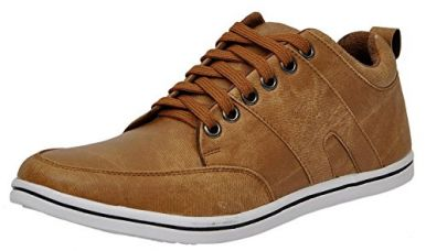 Buy Shoes T20 Men's Tan Casual Shoe from Amazon