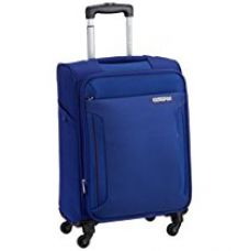 American Tourister Troy Polyester 42 Ltrs Royal Blue Softsided Carry On (AMT TROY SP56 ROYAL BLUE) for Rs. 6,094