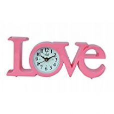 Buy Altra Plastic Analog Wall Clock (25 cm x 10 cm x 5 cm, Pink) from Amazon