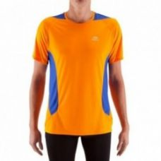 Buy Elio Men's Running T-Shirt - orange/blue from Decathlon