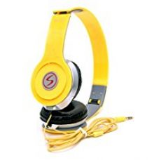 Buy Xiaomi Redmi Note 3/ Xiaomi Redmi Note 4 Compatible Signature Brand High Quality VM-46 Stereo Bass Solo Headphones For Iphone,Samsung, Redmi And All Other Smartphones (Yellow Color) from Amazon