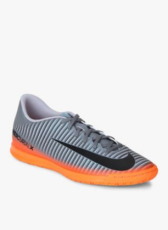08df11921 Nike Mercurialx Vortex Iii Cr7 Ic Grey Football Shoes for Rs. 2922 ...