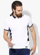 Get 40% off on Nike As Em Ts Crkt Hitmark Ss White Cricket Polo T-Shirt